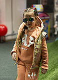 Утепленный детский костюм тройка gap, фото 3