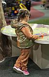 Утепленный детский костюм тройка gap, фото 4