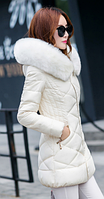 Женский зимний пуховик. Модель 61586-н, фото 2