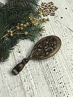 Расчёска для волос из дерева ручной работы