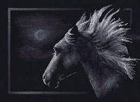 Лунный конь. Набор для вышивки крестом.