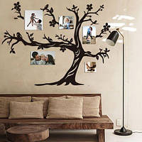 Семейное дерево для фотографий / семьи / фоторамка / картина /композиция / коллаж / подарок / древо