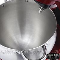 Кухонный комбайн с металлической чашей 3в1 Lexical LMB-1803 | 1500W | Тестомес, фото 2