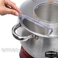 Кухонный комбайн с металлической чашей 3в1 Lexical LMB-1803 | 1500W | Тестомес, фото 3