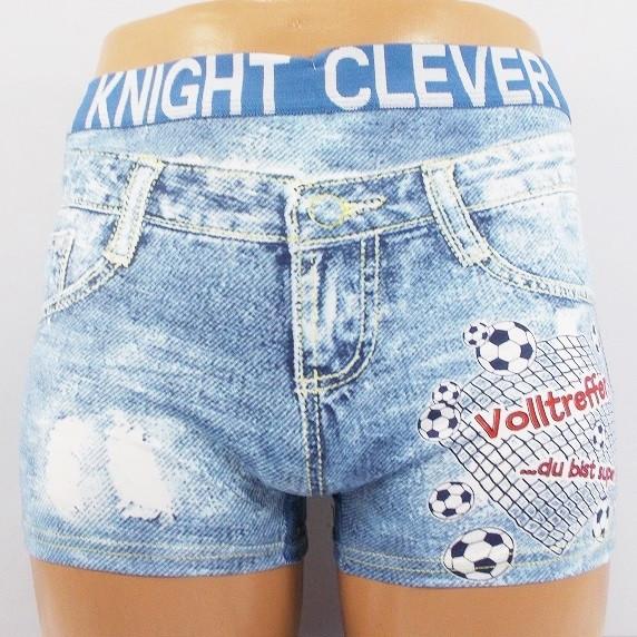 Трусы боксеры Clever Knight 9103 XXL серые