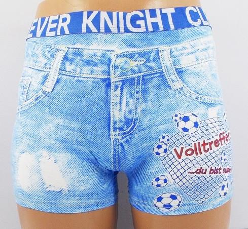 Трусы боксеры Clever Knight 9103 3XL голубые