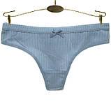 Трусы женские хлопковые стринги Intimates #87389 XL 1 шт, фото 3