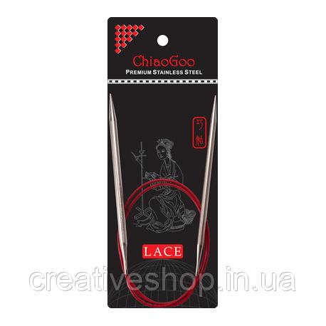 Спицы Chiaogoo Red Lace круговые (60 см) 3,5 мм