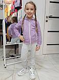 Спортивный костюм для девочек ОПТОМ р. 86-110, 116-134, 140-164, фото 4