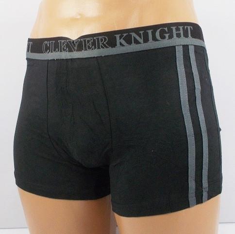 Трусы боксеры Clever Knight 7606 XXL черные