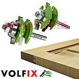 Фрези VOLFIX GRAND d8 з 2х фрез для меблевої обв'язки об'єднані рамкові, фото 4