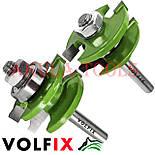 Фрези VOLFIX GRAND d8 з 2х фрез для меблевої обв'язки об'єднані рамкові, фото 6