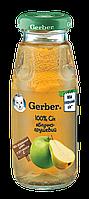 Сок детский яблочно-грушевый 6м+ 175г Gerber Швейцария 1327116