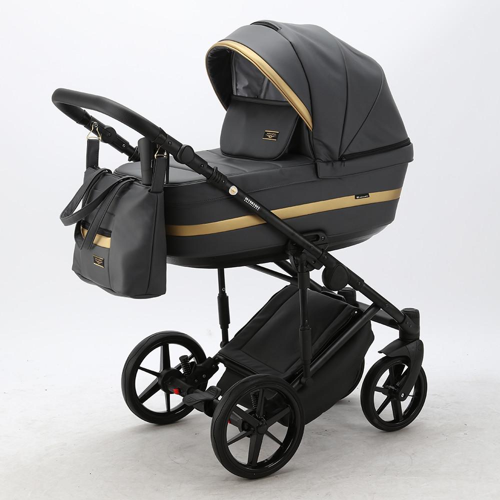Детская универсальная коляска 2 в 1 Adamex Rimini Eco RI-210