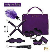 Подарочный набор для BDSM RIANNE S - Kinky Me Softly Purple: 8 предметов для удовольствия