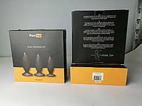 Набор анальных пробок Pornhub Anal Training Kit (незначительные дефекты упаковки), фото 1
