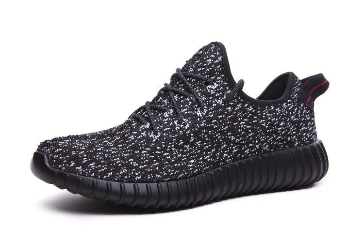 Кроссовки Женские Adidas Yeezy Boost 350 (в Стиле Адидас) Черные 38 — в  Категории