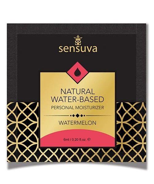 Пробник Sensuva - Natural Water-Based Watermelon (6 мл)