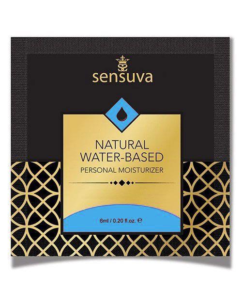 Пробник Sensuva - Natural Water-Based (6 мл)