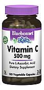Витамин С 500мг, Bluebonnet Nutrition, 180 гелевых капсул