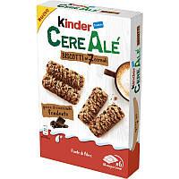 Батончики Kinder Cereale Dunkle 6s 204 g