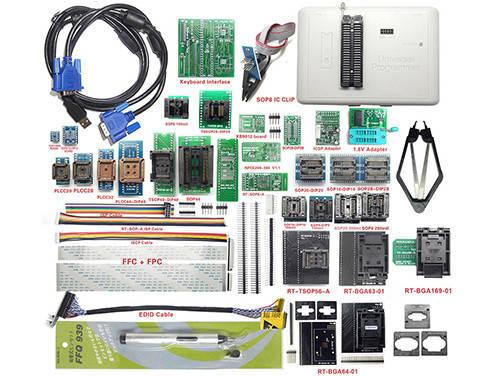 Программатор RT809H eMMC NAND FLASH + суперкомплект 35в1, фото 2