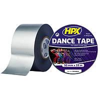 Dance Floor PVC Tape - 50мм х 33м - серая балетная лента, фото 1