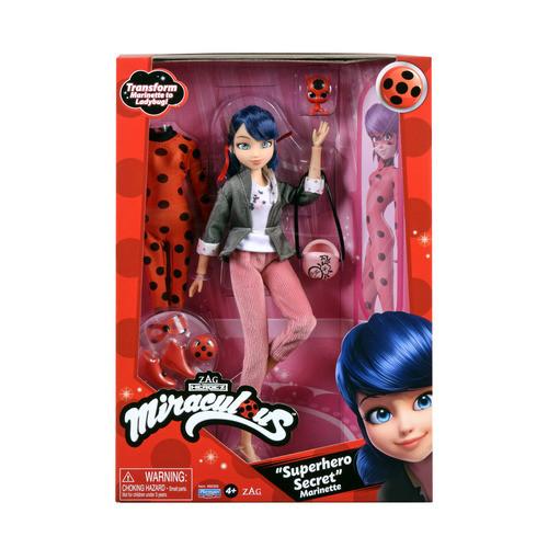 Кукла из мультика Леди Баг и Супер Кот S2 - Суперсекрет Маринетт 26 см с аксессуарами (50355)