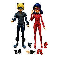 Набор 2-х кукол из мультика Леди Баг и Супер Кот S2 – Миссия выполнена 26 см с аксессуарами (50365), фото 3