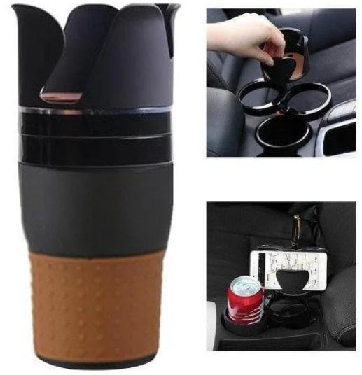 Органайзер холдер для стаканов автомобильный Car holder 5 in 1  подставка под стаканы