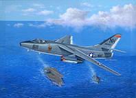 Сборная модель Стратегического бомбардировщика EA-3B Skywarrior 1/48