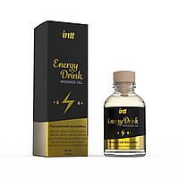 Массажный гель для интимных зон Intt Energy Drink (30 мл) разогревающий, фото 1