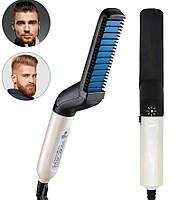 Утюжек-выпрямитель для укладки бороды и волос FB168 (7202)