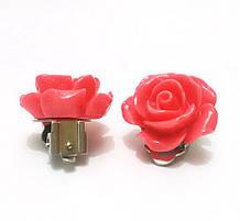 Клипсы женские Розы
