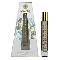 Духи з роликовим нанесенням DONA Roll-On Perfume - After Midnight (10 мл), варіант для сумочки