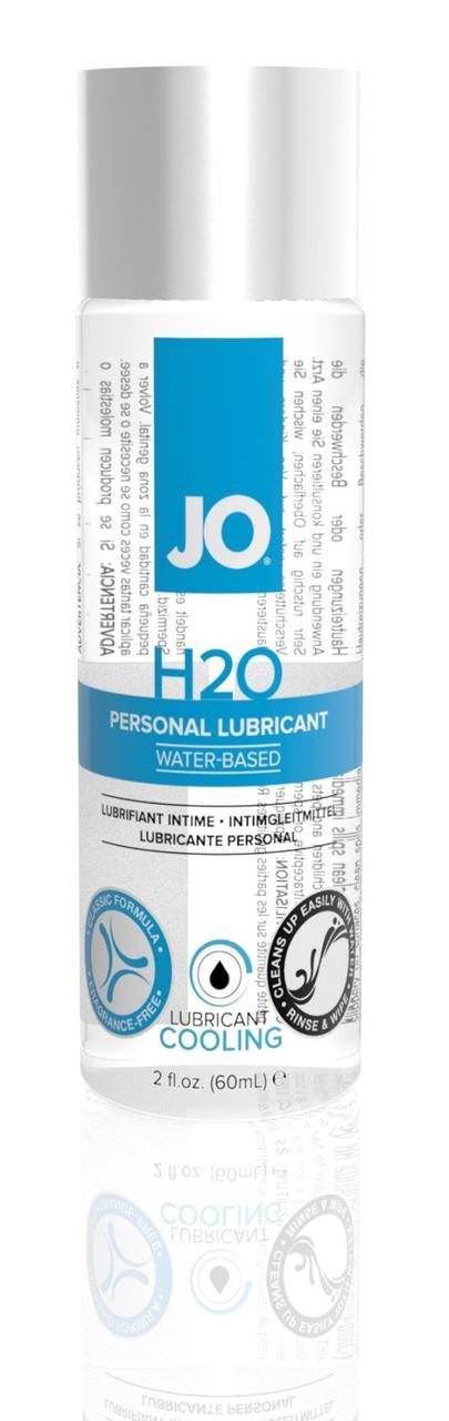 Охлаждающая смазка на водной основе System JO H2O COOLING (60 мл) с ментолом, растительный глицерин