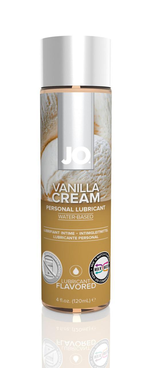 Смазка на водной основе System JO H2O - Vanilla Cream (120 мл) без сахара, растительный глицерин