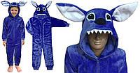 Пижама кигуруми Стич синий, фото 1