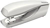 Степлер металевий Leitz New NeXXt Style, 30 арк., арктичний білий, скоба №24/6, 26/6, арт. 55620004