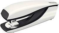 Степлер металевий Leitz New NeXXt WOW, 30 листів., білий металік, cкоба №24/6, 26/6, арт. 5502-10-01