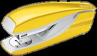 """Степлер Leitz WOW, колір """"жовтий металік"""" 30 листів, cкоба №24/6, 26/6 арт.5502-10-16"""