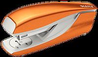 Степлер металевий Leitz New NeXXt WOW, 30 листів, колір помаранчевий металік, cкоба №24/6, 26/6, арт.