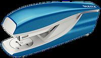 Степлер металевий Leitz New NeXXt WOW, 30 листів, колір синій металік cкоба №24/6, 26/6, арт. 5502-10-36
