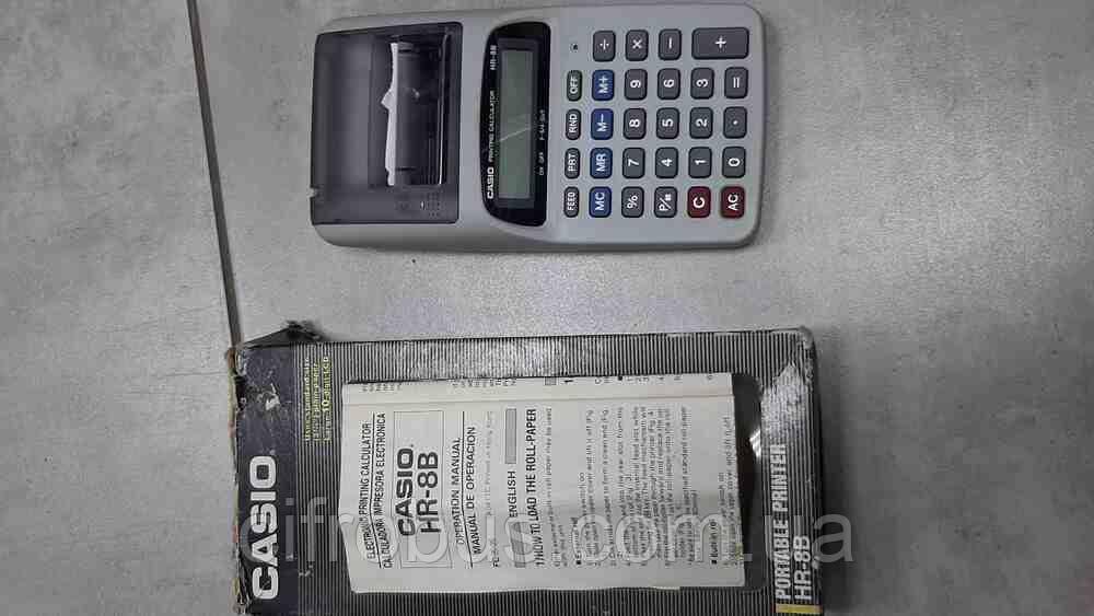 Б/У Калькулятор Casio HR-8B