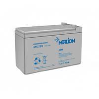 Аккумуляторная батарея MERLION 12 V 7,2 Ah White