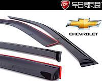 Ветровики Chevrolet Lacetti хэтчбек Cobra Tuning Дефлекторы окон