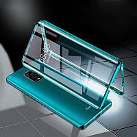 Bakeey 360 вигнутий передній екран+задня двосторонній повне тіло 9Н загартоване скло метал адсорбції магнітних