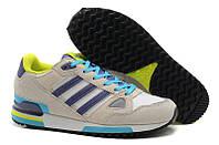 Кроссовки женские Adidas ZX 750 (адидас) серые