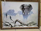 """Б/У Картина """"Слон"""", фото 3"""