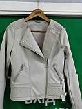 Б/У Куртка женская кожзам, фото 3